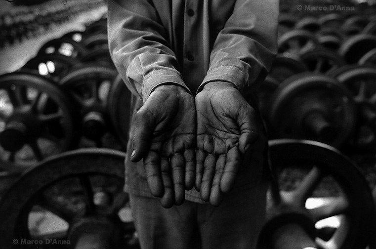 Railwayman, Ethiopia, 2004
