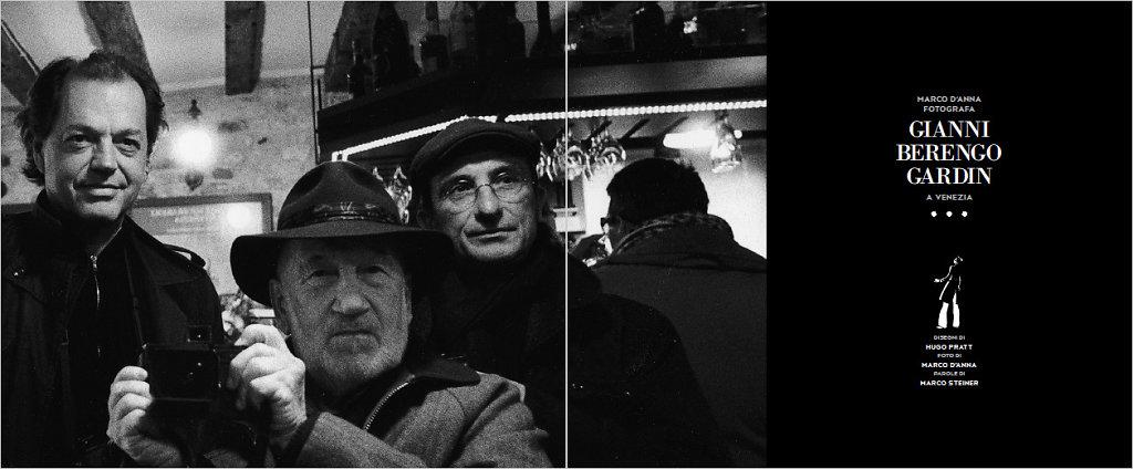 Gianni Berengo Gardin, Marco D'Anna, Hugo Pratt, Marco Steiner