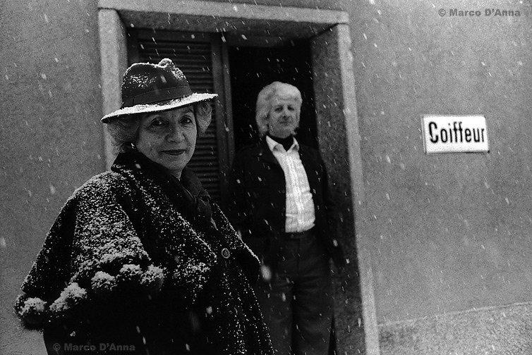 Parrucchiere, Airolo, 1999